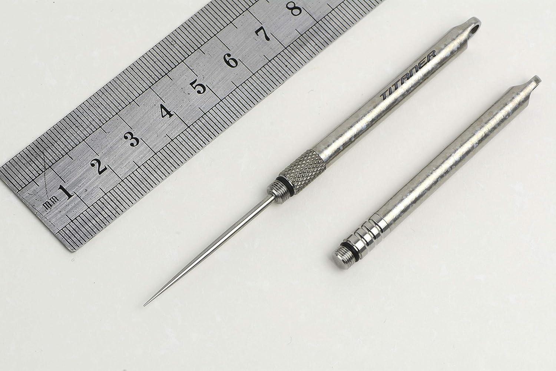 Pocket waterproof titanium alloy toothpick holder outdoor traveling tool Gut ML