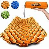 Powerlix - Colchoneta de dormir ultraligera inflable, la mejor almohadilla de autoporción para camping, mochilero, senderismo