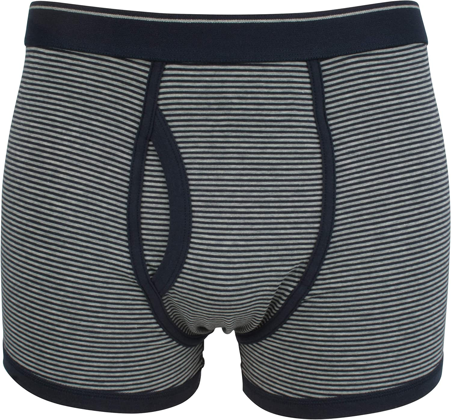 Ex-Store Mens Pack of 3 Cotton Jersey Keyhole Trunks