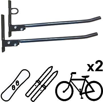 Vailantes™ DOPP-1 Soporte Pared Para Bicicleta Mtb Bmx Bicicleta Montaña Bicicleta Carretera Soporte Pared Para Almacenaje Bicicletas En Garaje Soporte Para Bicis y Accesorios Soporte Para Colgar Bici: Amazon.es: Deportes y aire