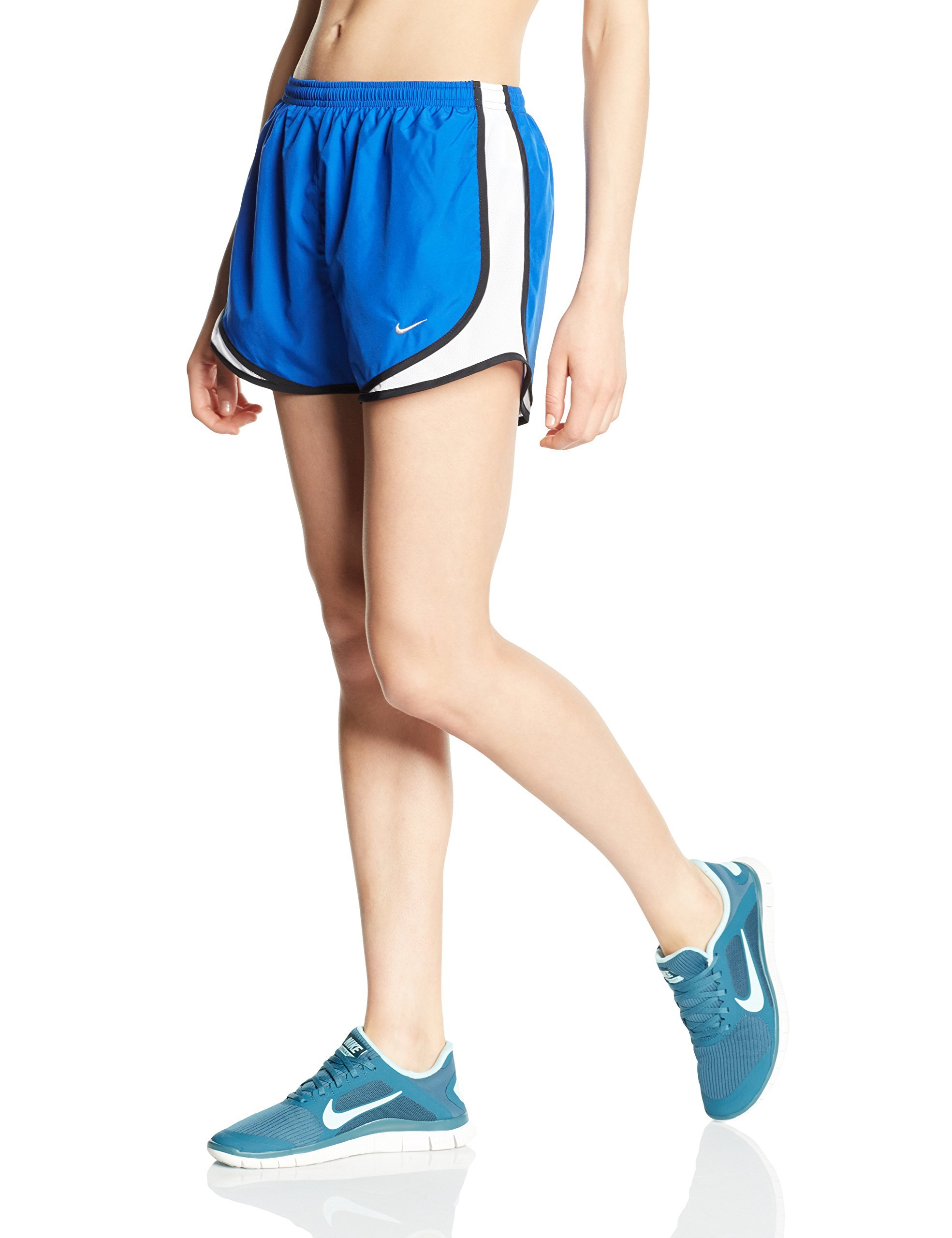 Nike Tempo Track 3.5'' Women's Athletic Short (Game Royal/White/Black, X-Small)