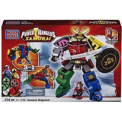 Mega Bloks Power Ranger Samurai MegaZord: Toys & Games