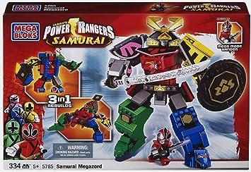 Power Rangers Bloks Zord Samurai 5785 Mega WIHY2ED9
