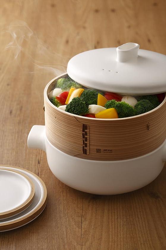 JIA Inc. - Cuit-vapeur Steamer en céramique: Amazon.fr: Cuisine ...