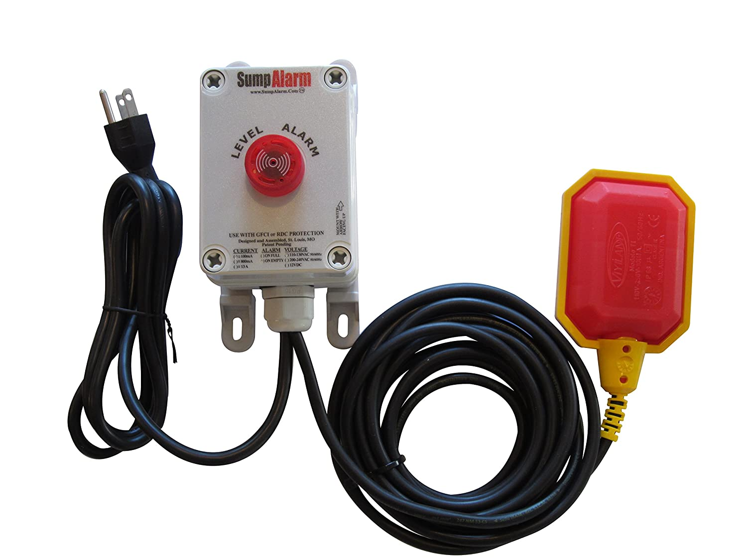 Wireless Wifi In Outdoor Sump Pump Or Septic Tank Monitor High Alarm Wiring Low Level