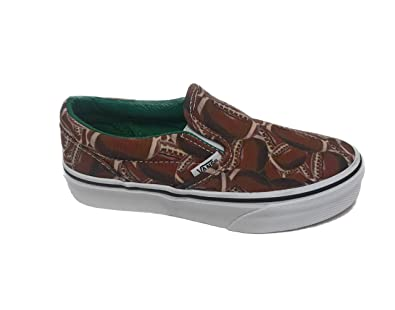 6a1db4ea2b949d Image Unavailable. Image not available for. Color  Vans Classic Slip-On ( Sports) Football Green ...
