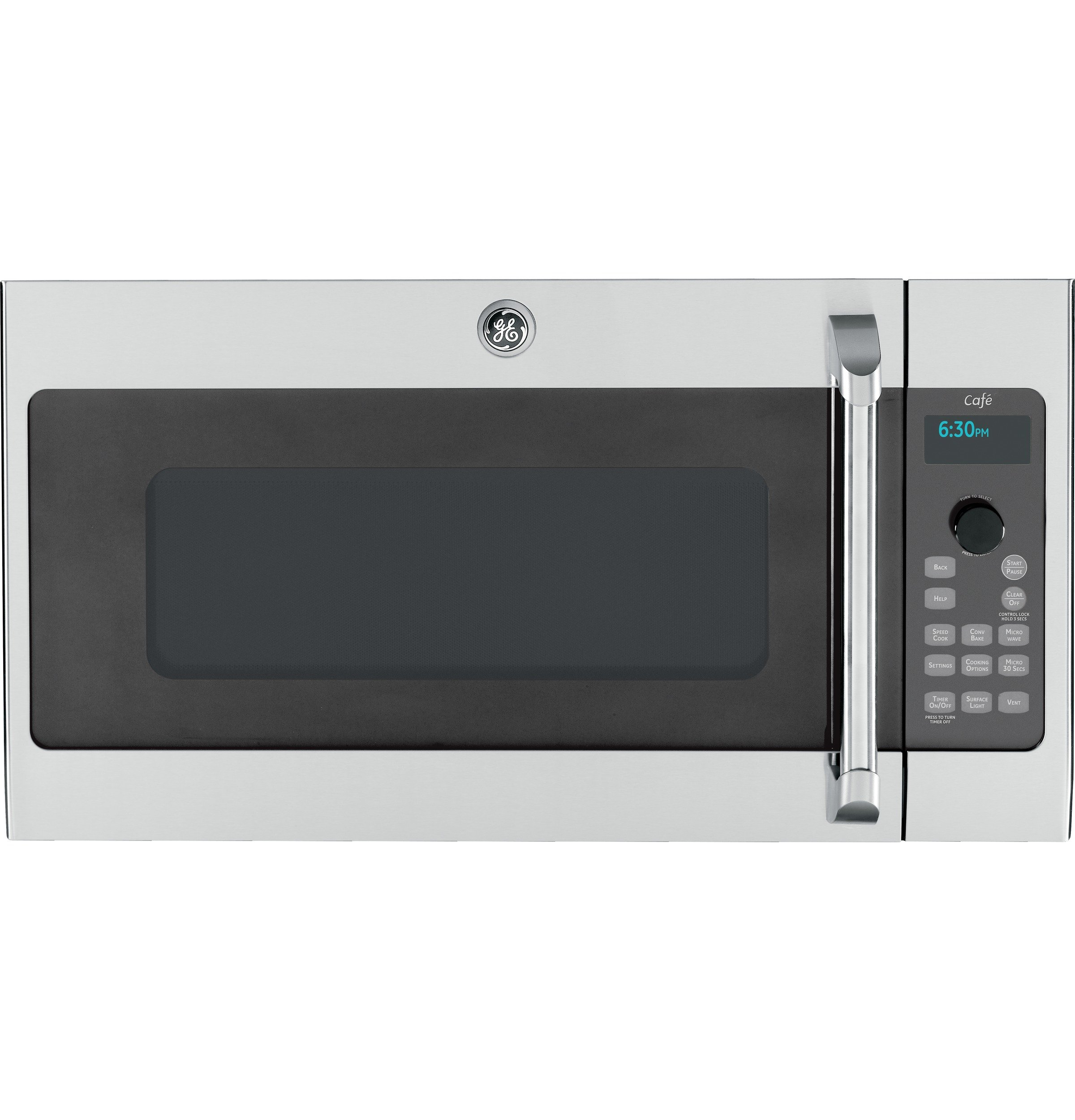 GE Cafe Advantium CSA1201RSS 30'' 1.7 cu. ft. Capacity Over-the-Range Convection Microwave Oven