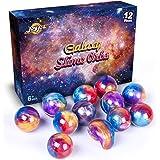Joyjoz 銀河スライム 12個入 大容量 slime kit スライムキット 星空スライム ギャラクシースライム キラキラ ふわふわ スライムボール
