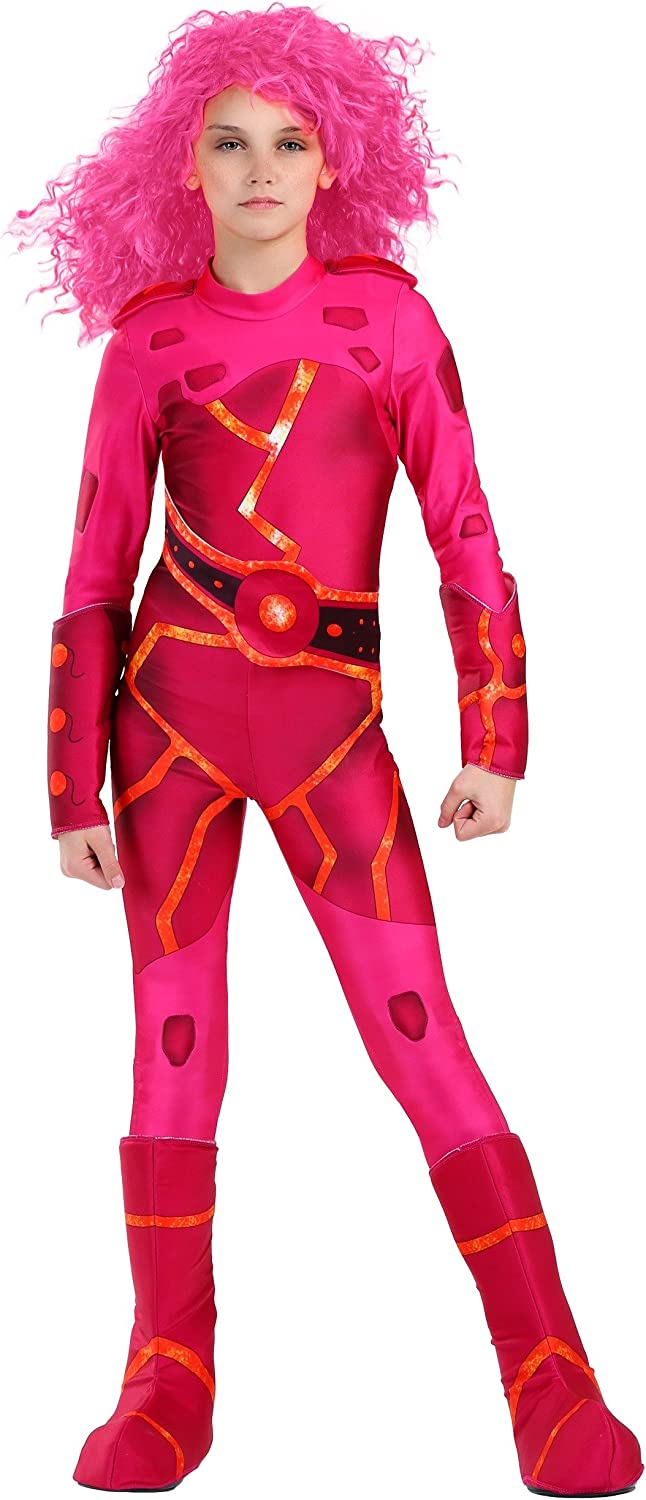Lava Girl Costume for Kids Sharkboy and Lavagirl Costume