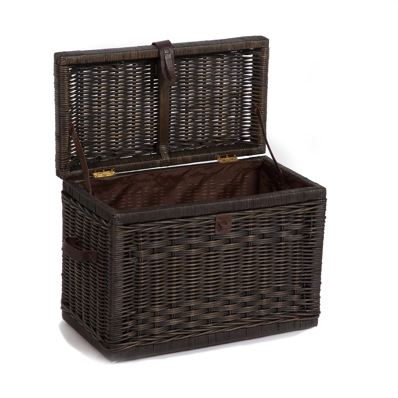 Amazon.com: The Basket Lady - Baúl de mimbre, Ratán y mimbre ...