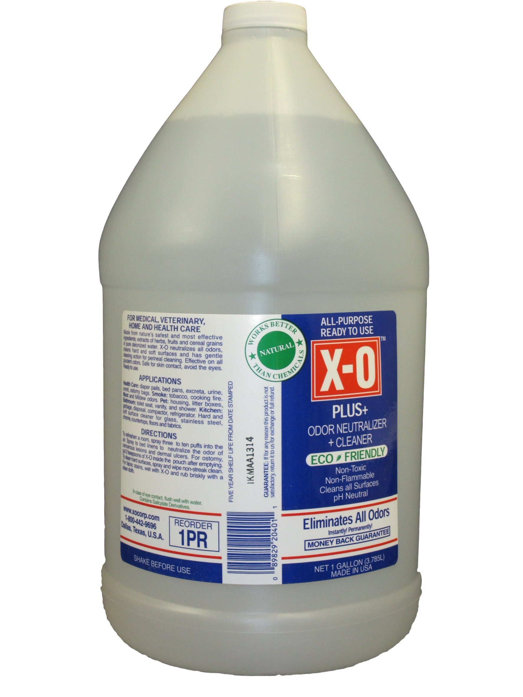 X-O Plus Odor Neutralizer/Cleaner Ready-To-Use Spray, 1-Gallon