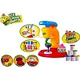 Toyshine DIY Ice Cream Clay Play Set Toy - Orange