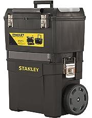 Stanley 1-93-968 Servante Carbone, Noir, 47 x 63 x 30 cm