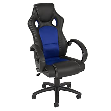 Good Best Choice Products Leather Office Chair High Back Race Car Style Bucket  Seat Desk Gaming Racing