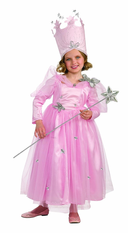 Amazon.com: Wizard Of Oz, Super Deluxe Glinda Dress And Crown ...
