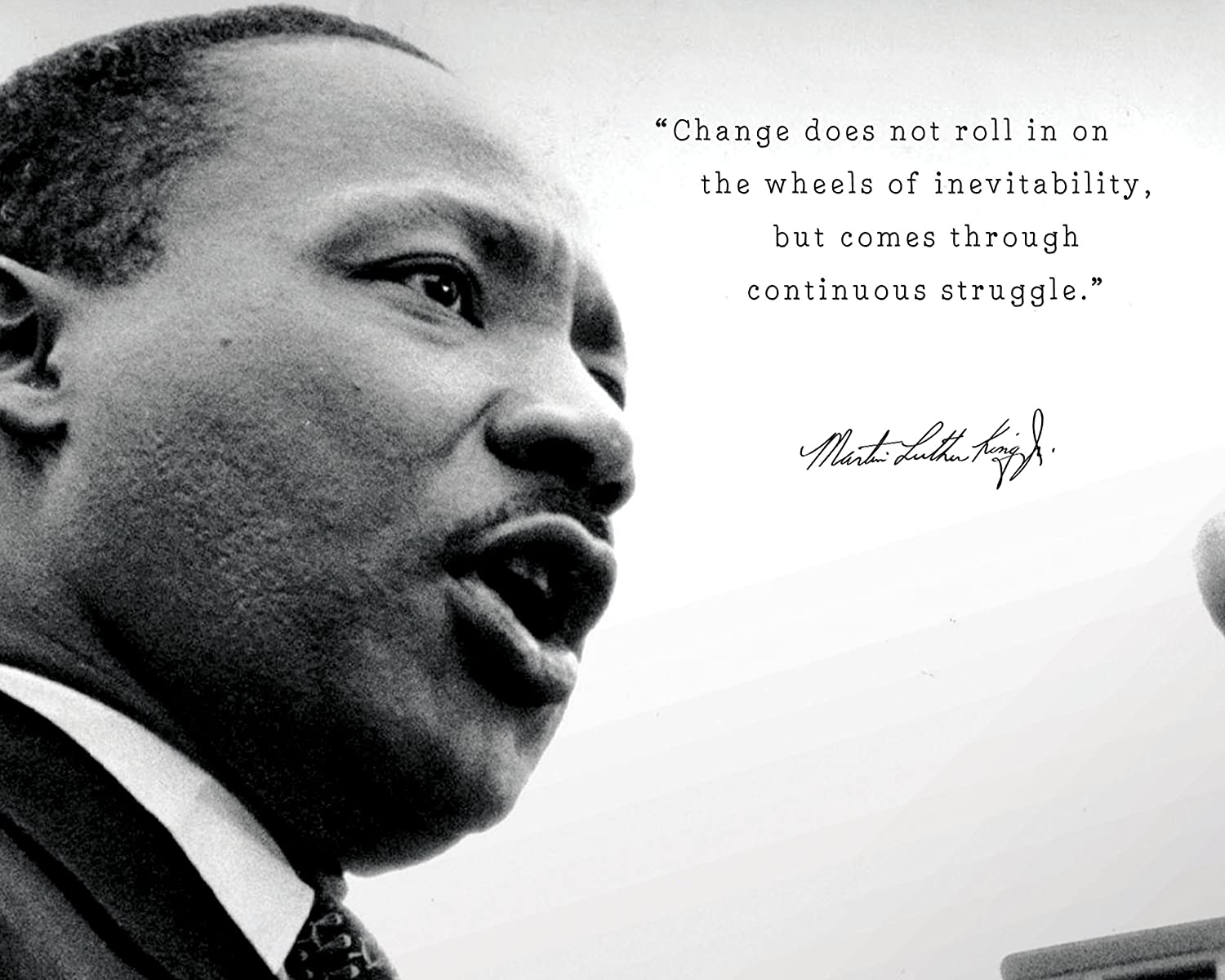 Amazon.com: Martin Luther King Jr Poster Photo Picture ...