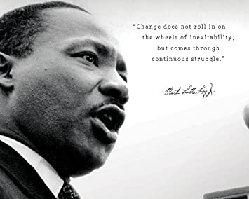 Amazon Com Martin Luther King Jr Poster Photo Picture Framed Quote