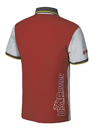 U-Power - Polo - para Hombre Red Magma XXXL: Amazon.es: Ropa y ...