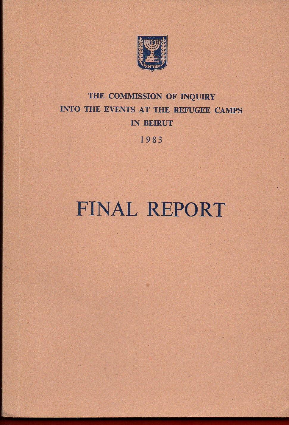 Informe de la Comisión Kahan