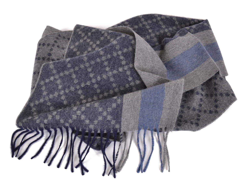 Amazon Com Gucci 333019 Men S Angora Wool Web Stripe Diamante Scarf