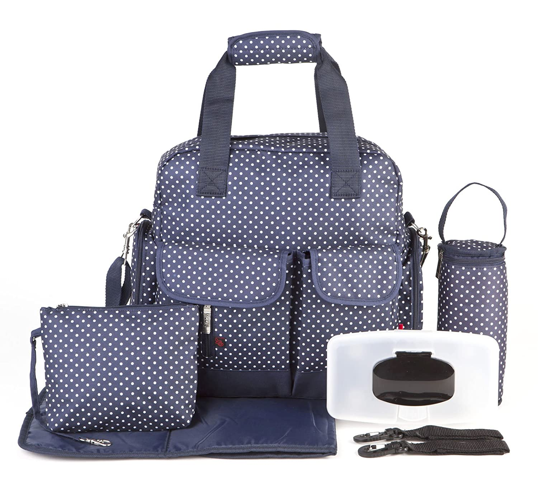 Allis Chic Multiway Changing Bag (Black) CB06K