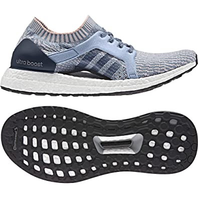 huge selection of 32257 e3098 adidas Chaussures de Course Ultra Boost X Bleu Femme  Amazon.fr  Sports et  Loisirs