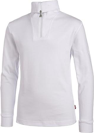 Medico – Camiseta de esquí para, 100% algodón, Manga Larga, Cuello ...