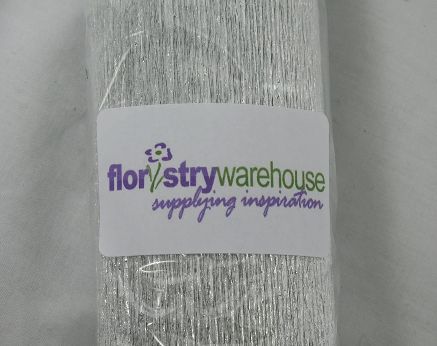 FloristryWarehouse Royal Blue 557 Crepe paper roll 20 inches wide x 8ft long Top quality Italian paper craft