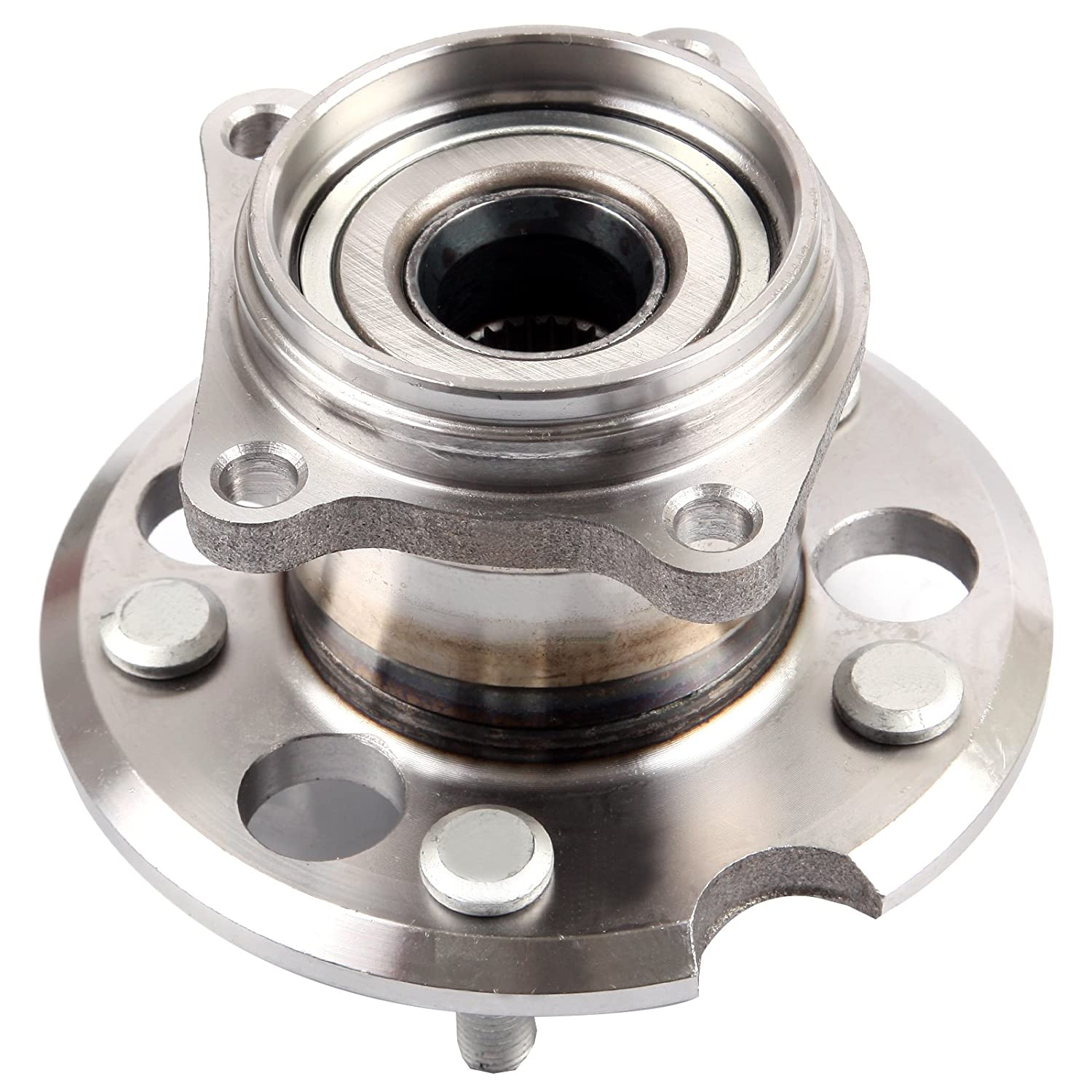 SCITOO 512338 Rear Wheel Hub Bearing Assembly fit 2001-2005 Toyota 5 Lugs 065824-5206-1629331