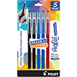 PILOT FriXion Color Sticks Erasable Gel Pens 5-pack 2 Black/2 Blue/1 Red (32442) Make Mistakes Disappear, No Need For White Out. Smooth Lines to the End of Page, America's #1 Selling Pen Brand
