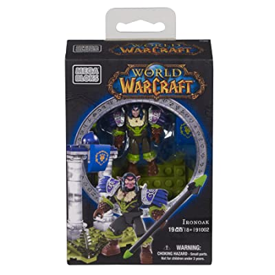 Mega Bloks World of Warcraft Ironoak (Alliance Night Elf Hunter): Toys & Games