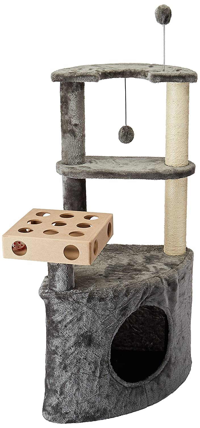 Fur Haven Tiger Tough Cat Tree House Furniture For Cats And Kittens Cat Ladder Playground Floor To Ceiling Cream Activity Trees Beds Furniture Ayalonlaw Co Il