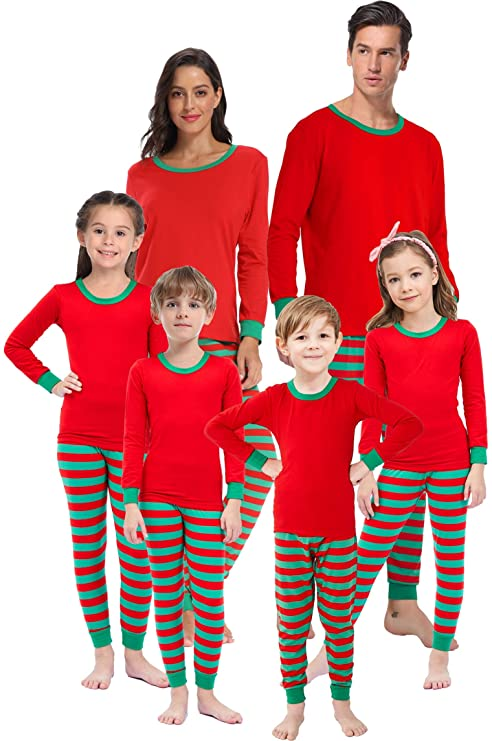 Matching Family Pajamas for Girls Boys Christmas Sleepwear Mum and Me Plus Size Sleepwear Women S best Christmas pajamas for families