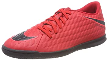 official photos 479a5 a057b NIKE Men's Hypervenom Phade III Indoor Soccer Shoes - (University Red/Black)