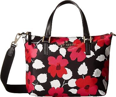 285b203432e3 Amazon.com  Kate Spade New York Women s Watson Lane Lucie Crossbody Black  Multi One Size  Shoes