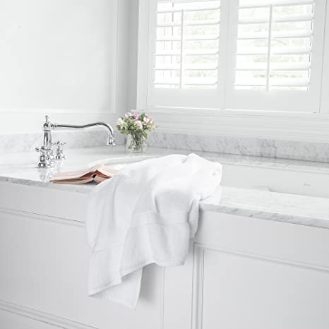 f86835288f Amazon.com  Boll   Branch Luxury Over-Size Fair Trade   GOTS Certified  Organic Cotton Natural Bath Sheet Set (2 Pack)  Home   Kitchen