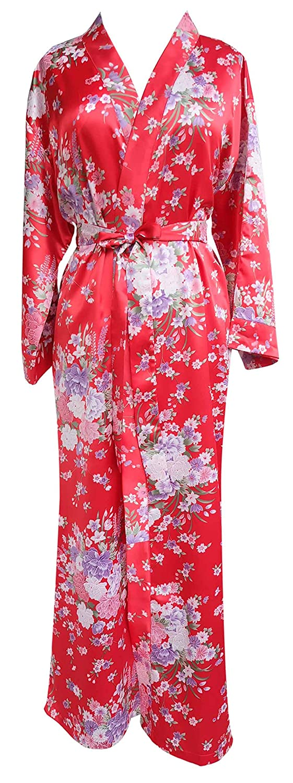 JANA JIRA SLEEPWEAR レディース B07J1G3TKF Plus size|Red Sakura - A55 Red Sakura - A55 Plus size