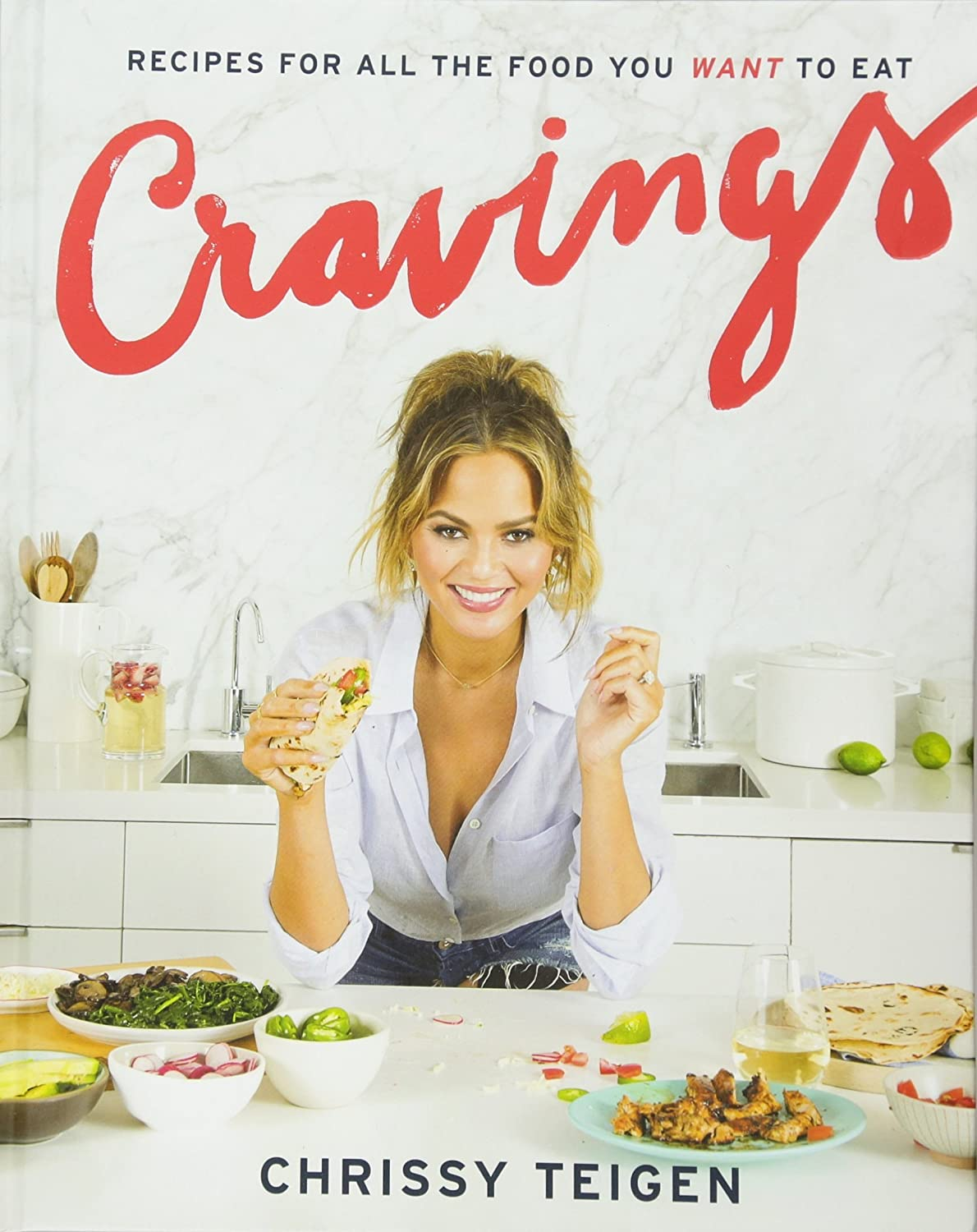 [By Chrissy Teigen] Cravings: Recipes for All the Food You Want to Eat (Hardcover)【2018】by Chrissy Teigen (Author) (Hardcover)