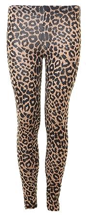 Womens Leopard Leggings