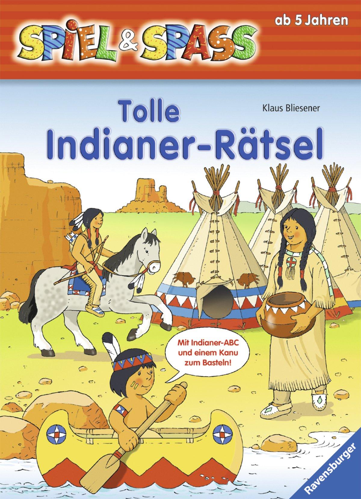 Tolle Indianer-Rätsel (Spiel & Spaß)