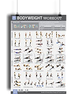 Toned body workout plan at home