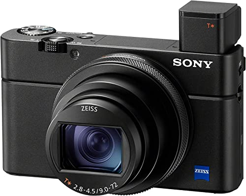 Sony RX100 VII Premium Compact Camera with 1.0-type stacked CMOS sensor