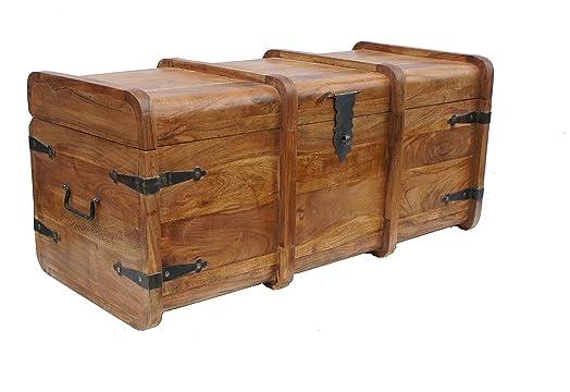Sheesham wood Thakat Marina Chest Coffee Table. Sheesham wood Thakat Marina Chest Coffee Table  Amazon co uk