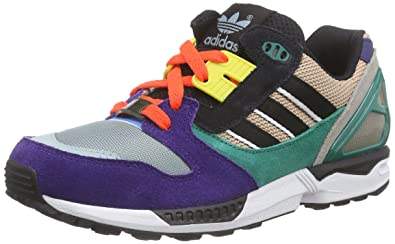 adidas Unisex Adults  ZX 8000 Low-Top Sneakers Multicolour Size  6 ... 94c2a695278d