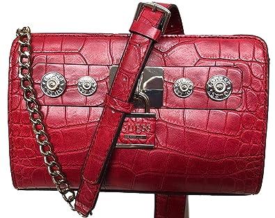 Borsa Amazon Tracolla A Taglia it Rosso Guess Donna Unica Crimson w1TdUq