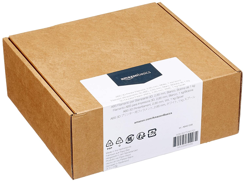 5 cintas de 1 kg cada una pl/ástico ABS Basics 5 colores diferentes Filamento para impresora 3D 1,75 mm
