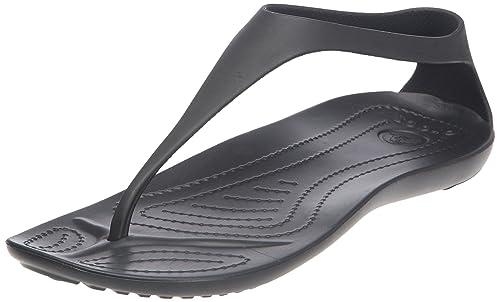 780d1afc8e0f45 crocs Damen Sexi Flip Zehentrenner  Amazon.de  Schuhe   Handtaschen
