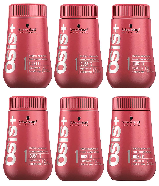 Schwarzkopf Professional OSiS + Dust it 10g 6roscadas