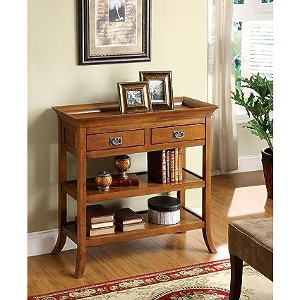 Incroyable Metro Shop Furniture Of America Kams Bottom Trays 2 Drawer End Table