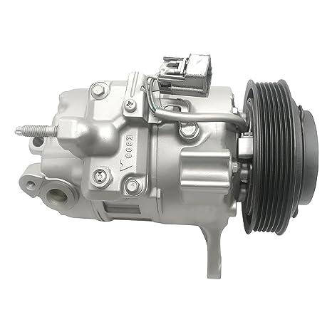 RYC - Compresor de CA remanufacturado y embrague A/C IG384